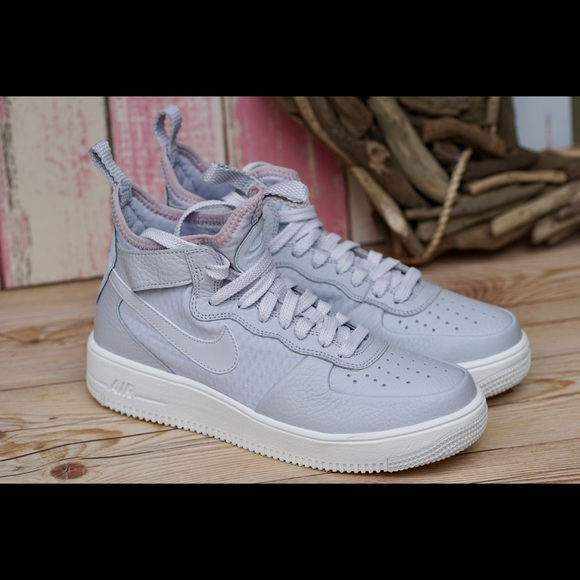 quality design 5ada2 f5a6f Nike Air Force 1 Ultraforce MID Vast Grey Women's NWT